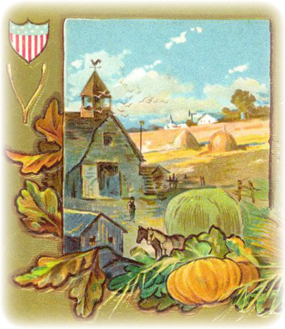 Harvest clipart vintage Turkey Holiday Free  Crafts