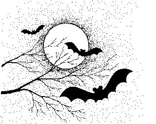 Spooky clipart black and white Halloween art Halloween Public Free