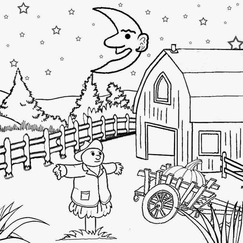 Harvest Moon clipart black and white Pictures harvest page Drawing cartoon