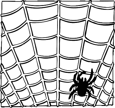 Moving clipart spider #11