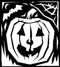 Harvest Moon clipart cobwebs Jack O Lantern Clipart Domain