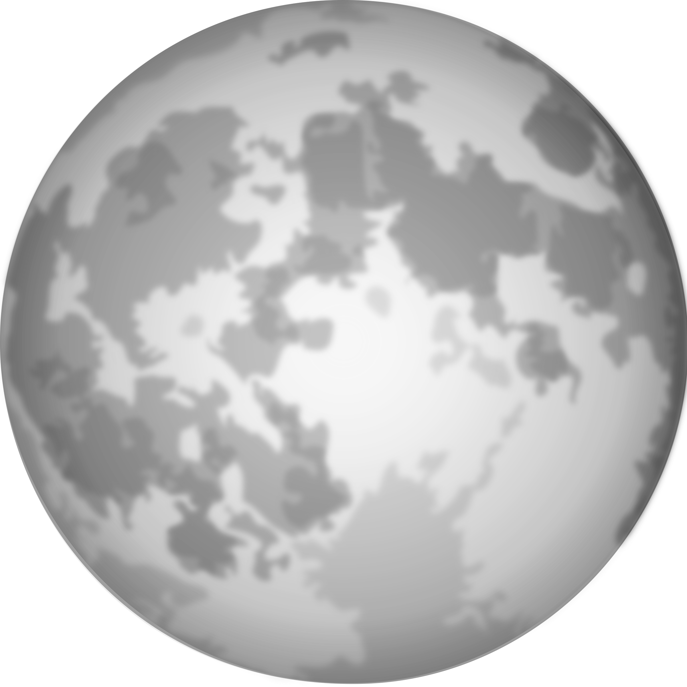 Moon clipart clear background #3