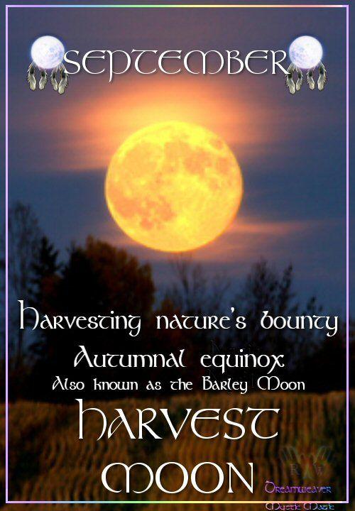 Harvest Moon clipart equinox Equinox Best bounty the rituals