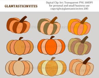 Harvest Moon clipart fall pumpkin Art Art Etsy For Digital