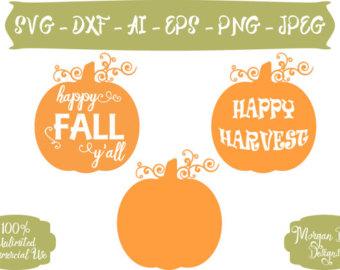 Harvest Moon clipart fall pumpkin Fall Y'all Harvest Harvest Clip