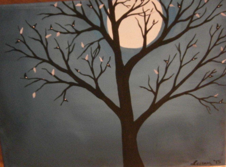 Harvest Moon clipart full moon Etsy Moon art Acrylic Moon