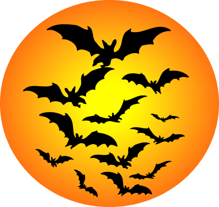 Harvest Moon clipart halloween bat Halloween Clipart Clipart free Moon
