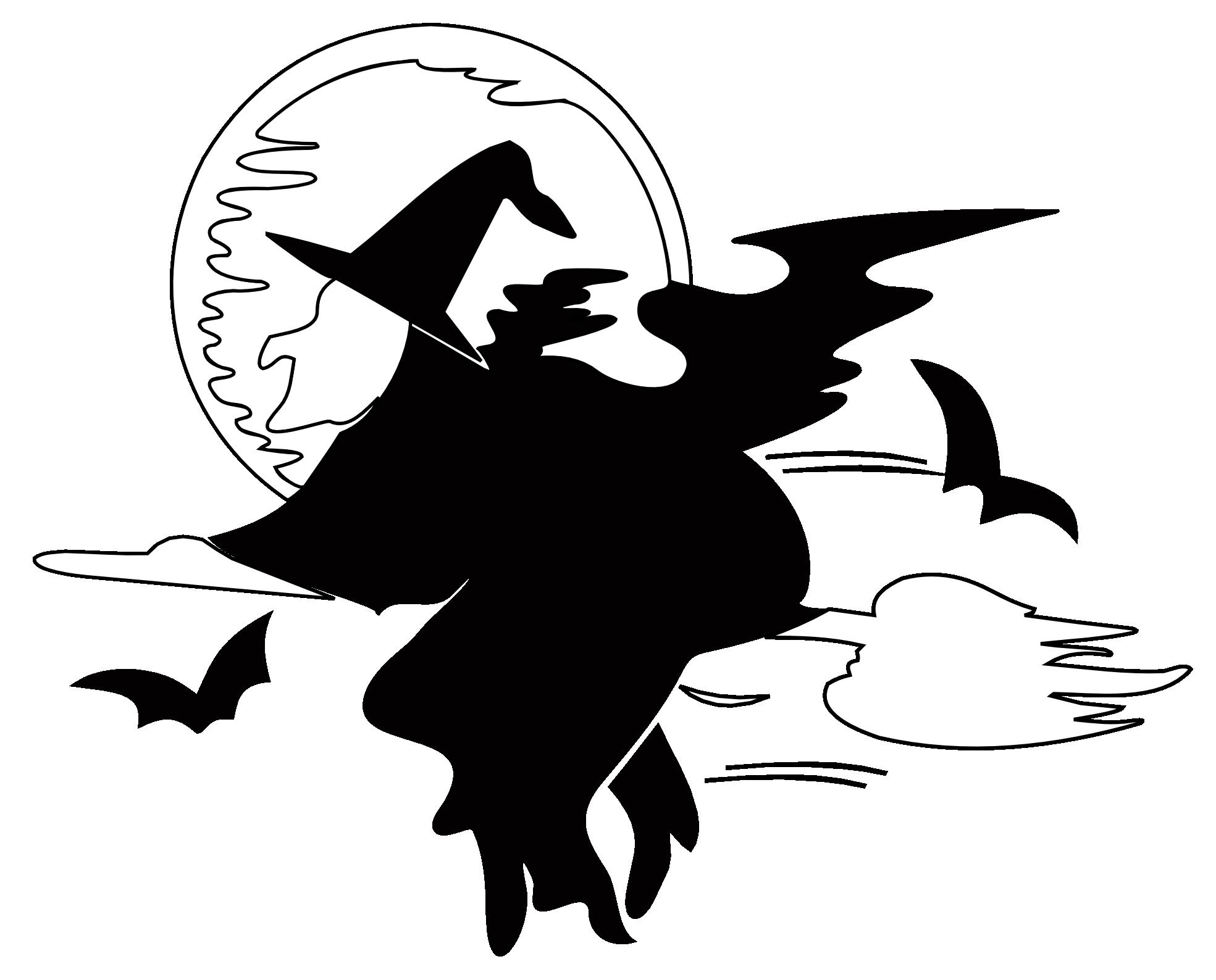 Harvest Moon clipart haloween White png Black Black