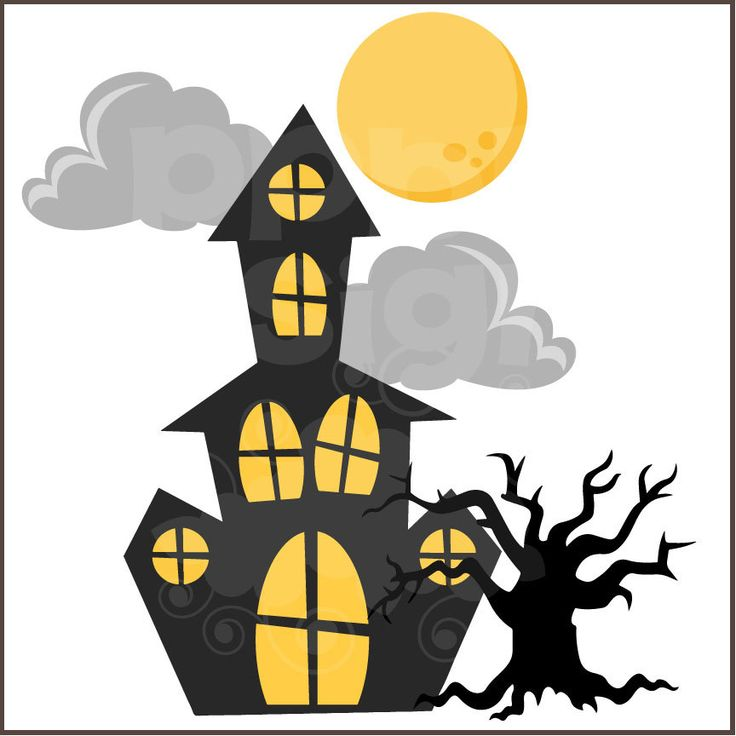 Haunted clipart scare Images Members) Scary (Free Deluxe