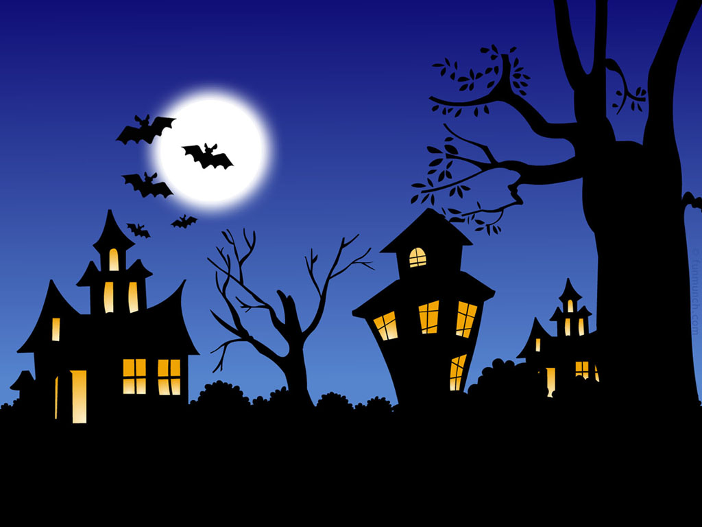 Haunted clipart haunted forest #6