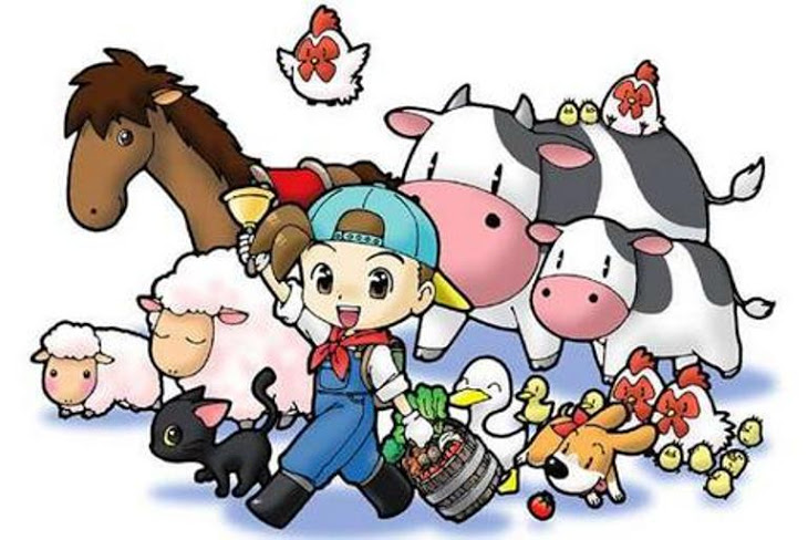 Harvest Moon clipart october birthday Back  Nature To Villager's