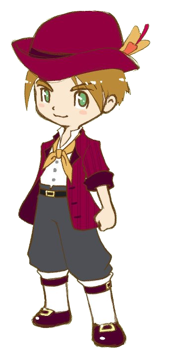 Harvest Moon clipart red harvest By (GrB) The Dirk Wiki