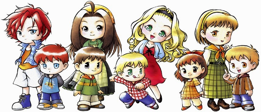 Harvest Moon clipart red harvest Girls and A Wonderful Harvest