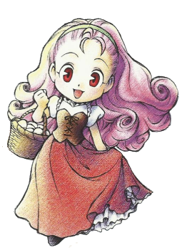 Harvest Moon clipart red harvest By (DS) The Popuri Wiki