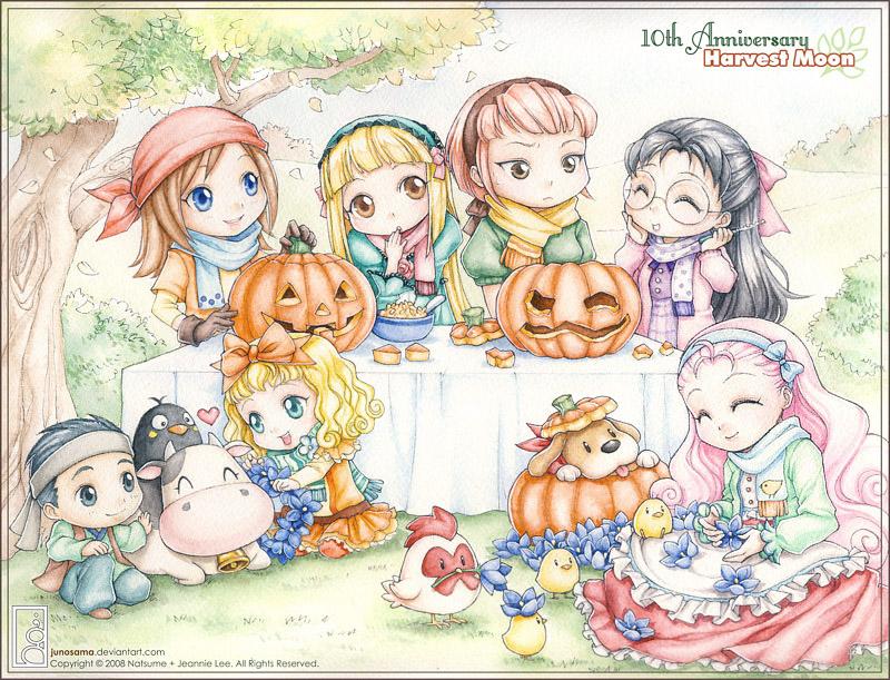 Harvest Moon clipart thanksgiving Harvest Halloween on Harvest Happy