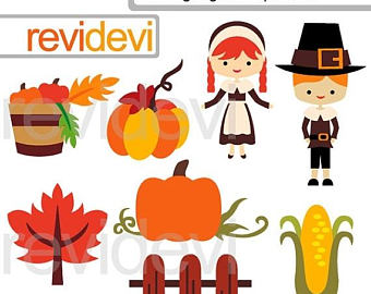 Harvest Moon clipart thanksgiving SALE OFF Etsy Harvest time