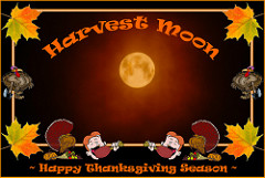 Harvest Moon clipart thanksgiving / Moon Another Happy /