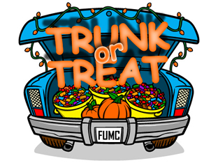 Harvest Moon clipart trunk or treat Methodist and October 31 Events