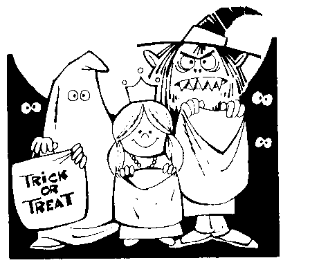 Harvest Moon clipart trunk or treat Moon images Public Domain