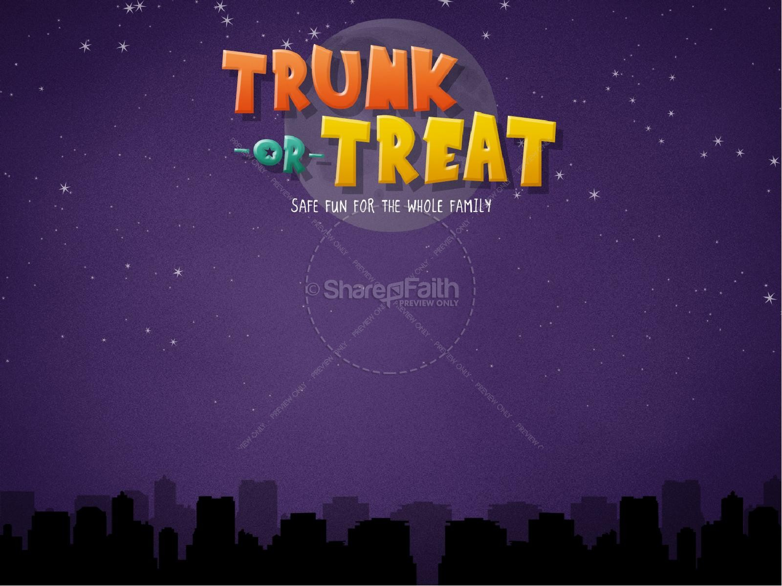 Harvest Moon clipart trunk or treat Trunk PowerPoints Treat Church Trunk