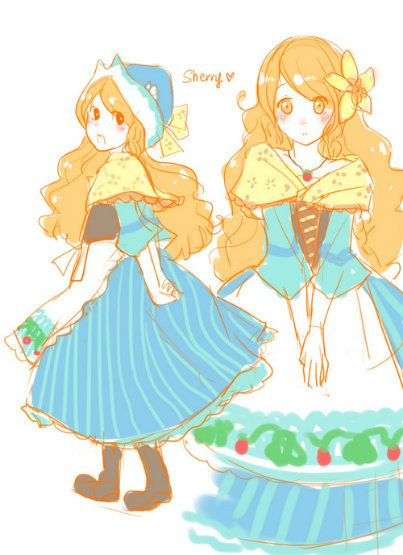 Harvest Moon clipart yellow Fanart on of Moon from