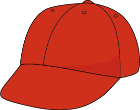 Pice clipart hat Art Images Baseball Hat Red