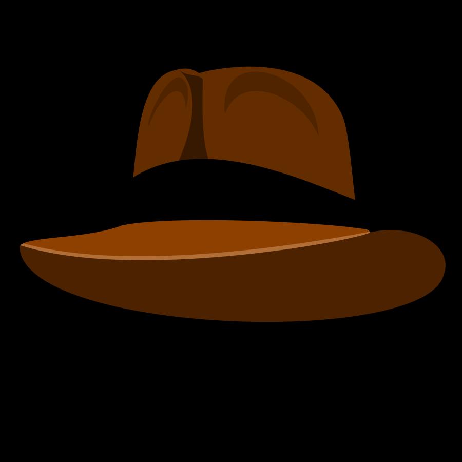 Western clipart indiana jones hat #2