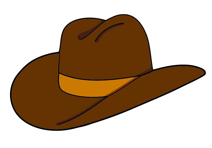Wild West clipart cap #5