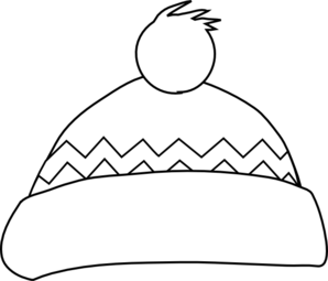Black & White clipart hat Download and hat clipart white