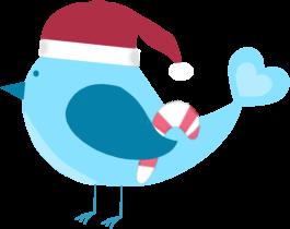 Hat clipart blue christmas Images Clip Christmas Art Christmas