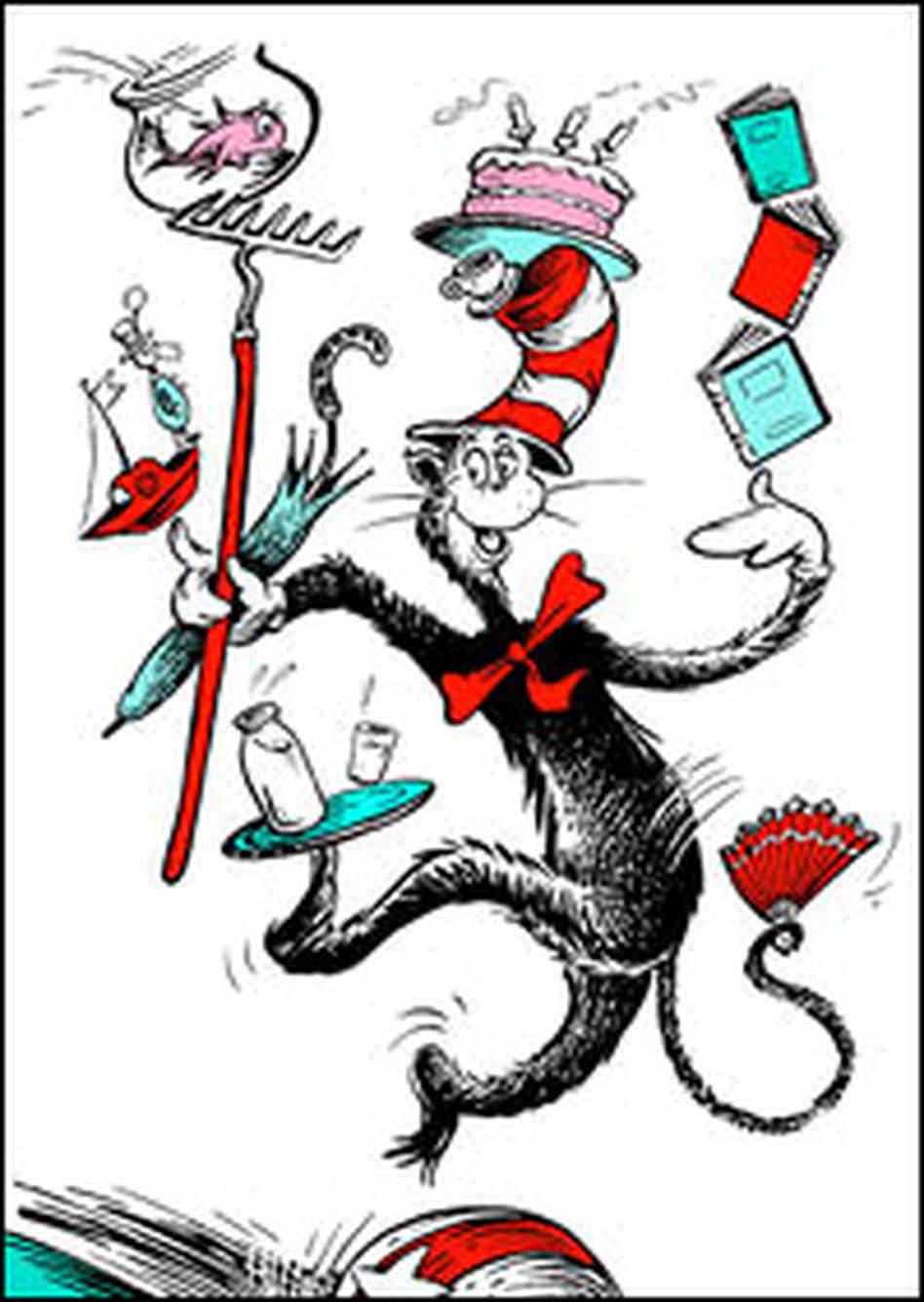 Book clipart the cat in hat Hat clip Clipartix Free the
