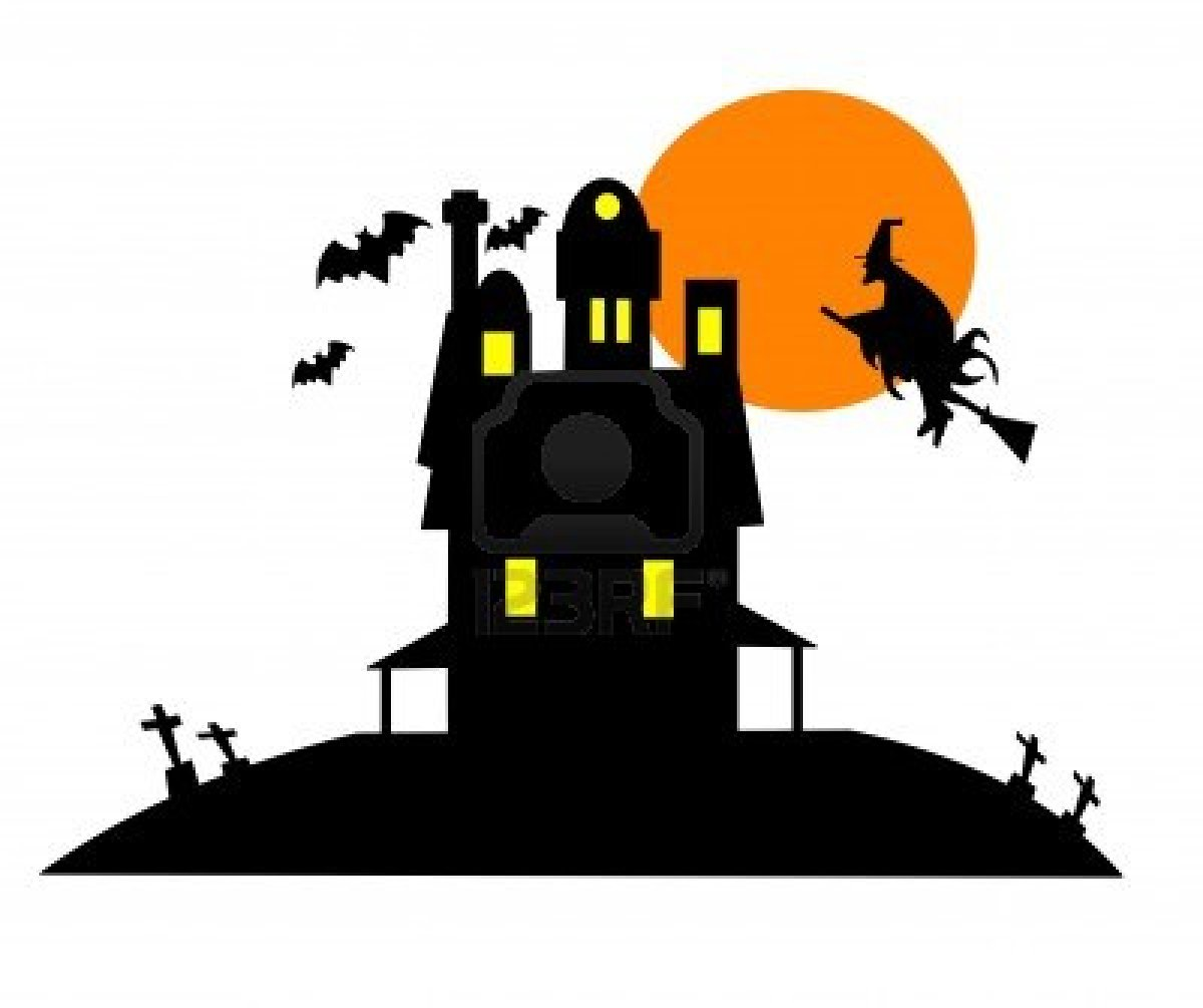 Spooky clipart haunted castle Images Clipart Haunted Clipart House