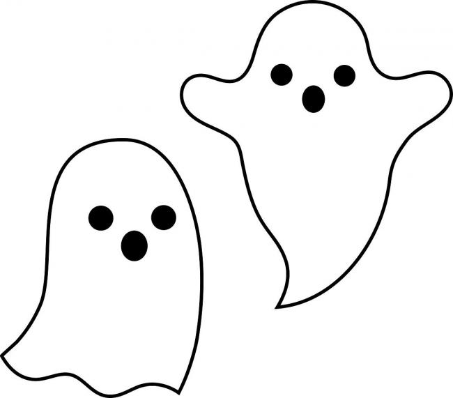 Ghostly clipart easy Ghost stories Warrington spooky 7