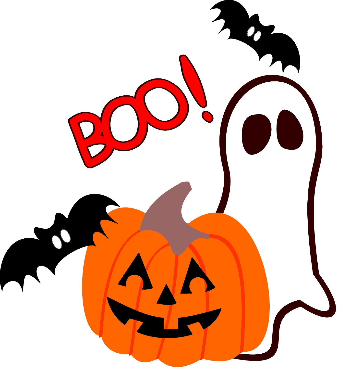 Haunted clipart boo Wolcott Haunted Forest Meeting PTO