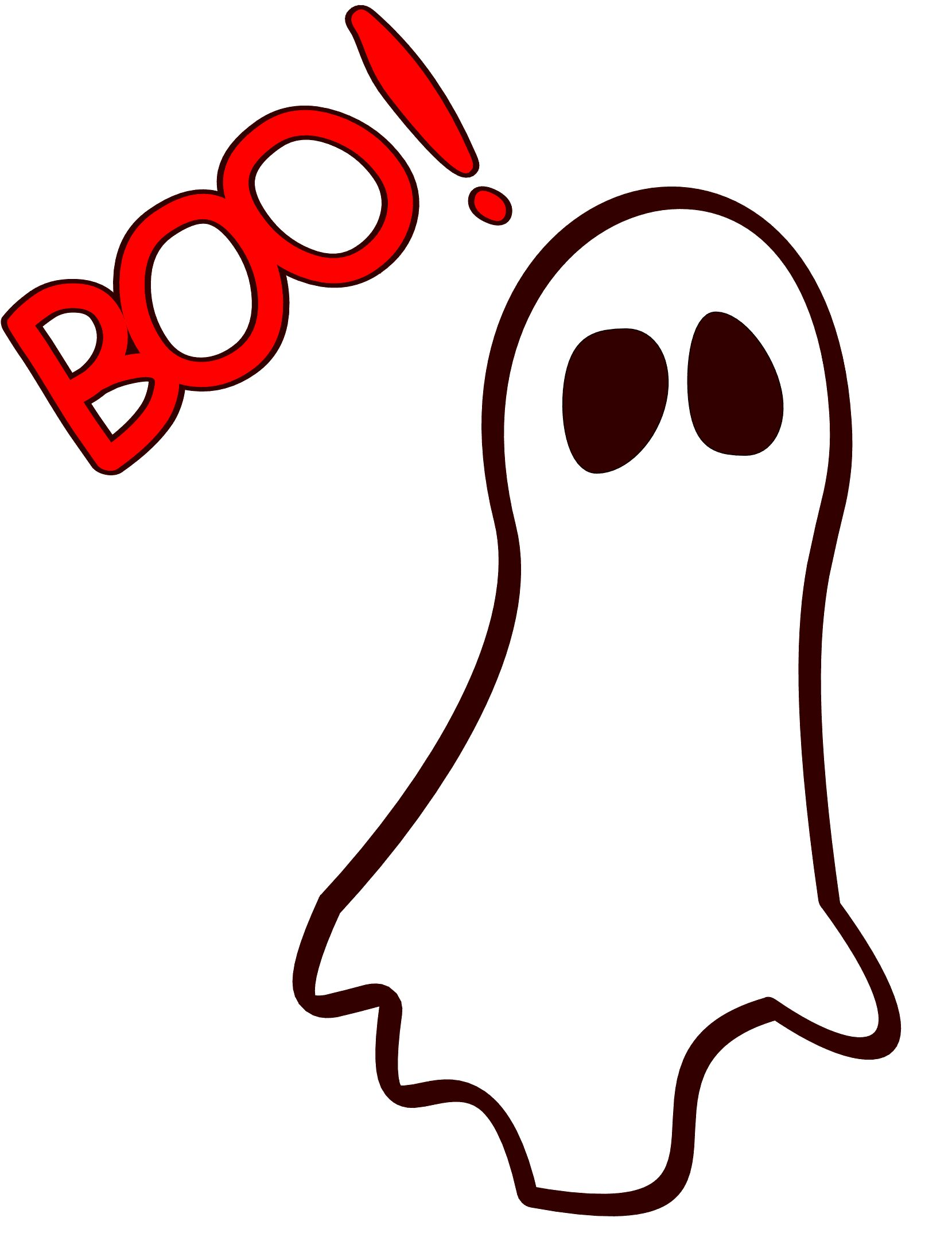 Haunted clipart boo #10949 FreeClipart Images Saying Clip