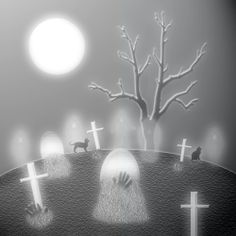 Haunted clipart cemetery Clip Cats Free  Clipart