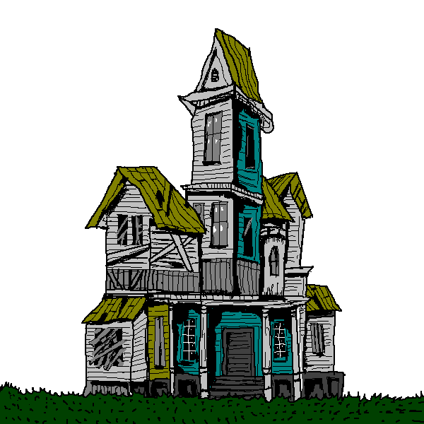 Mansion clipart creepy house Haunted Clipart Images House Clipart