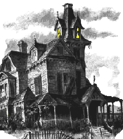 Spooky clipart haunted mansion Free Domain Halloween Public Haunted