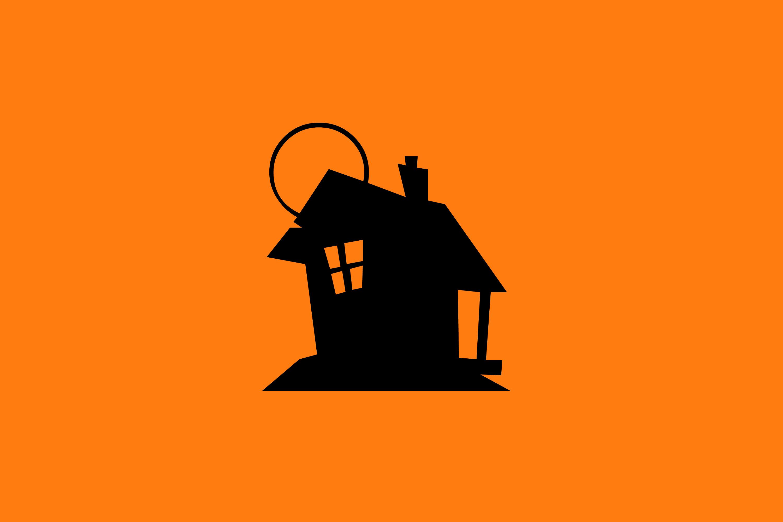 Haunted clipart creepy house House on house Photography Freebie