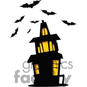 Haunted clipart creepy house Mansion Clipart Images Clipart Art
