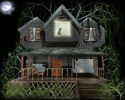 Haunted clipart creepy house Free Haunted clip  art