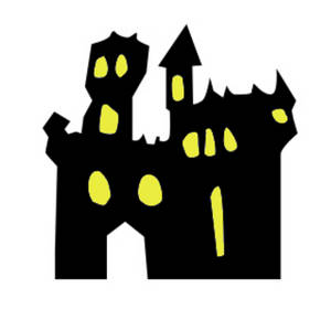 Spooky clipart haunted castle Free haunted%20house%20clipart%20black%20and%20white Haunted Clipart Clipart