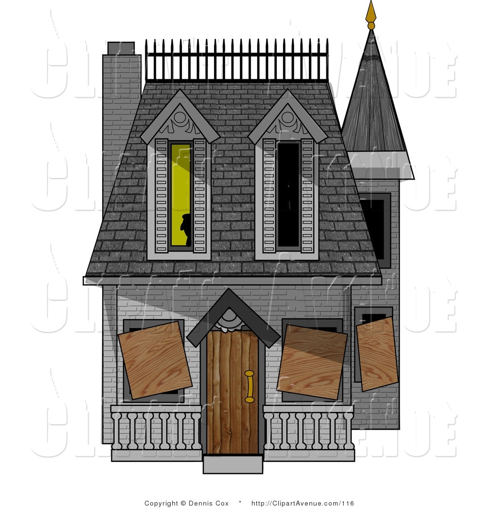 Mansion clipart creepy house Haunted House house Clipart free