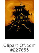 Haunted clipart eerie (RF) Clipart Illustration Haunted Royalty