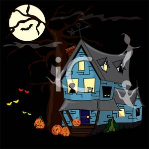 Haunted clipart eerie Image: House A Full Clip