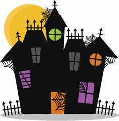 Haunted clipart fence #9