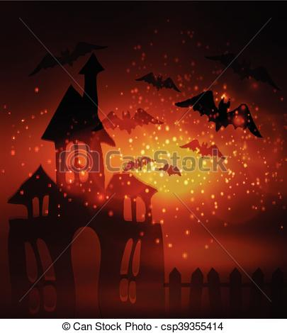 Haunted clipart fence #11