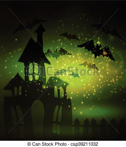 Haunted clipart fence #13