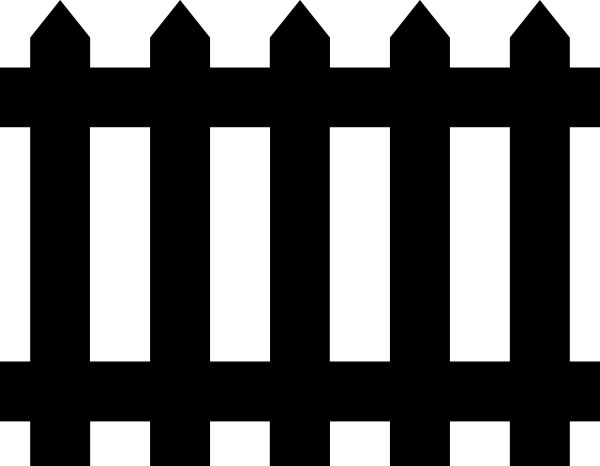 Haunted clipart fence #3