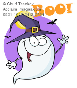 Haunted clipart friendly ghost Image Cartoon